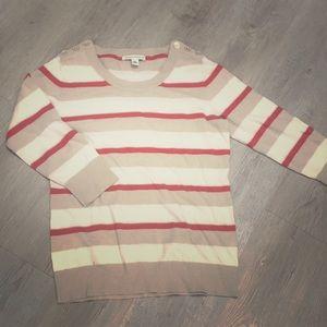 Striped Banana Republic sweater, size Medium